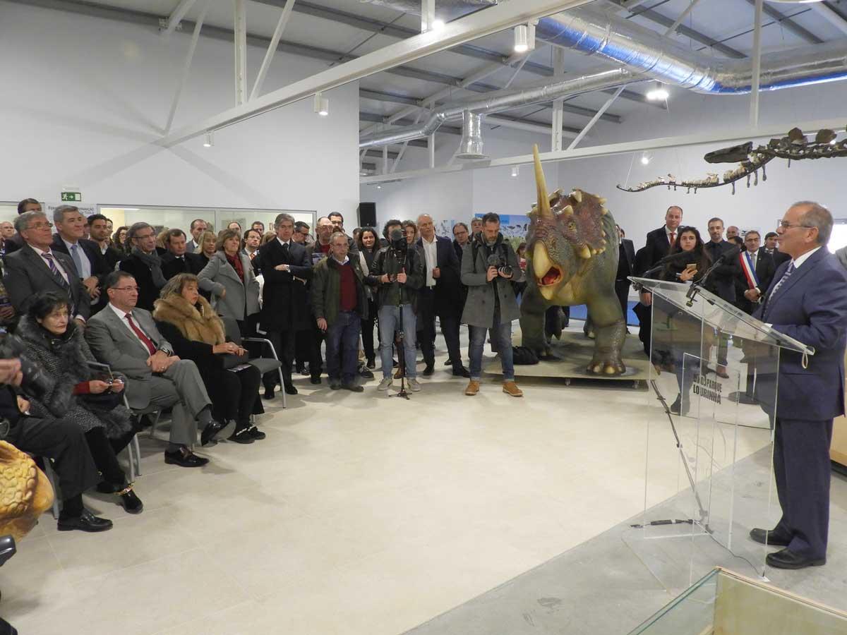 Inauguração do Dino Parque da Lourinhã