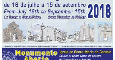 Visitas Guiadas e Monumentos Abertos 2018