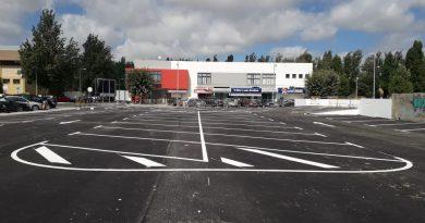 Novos 110 lugares de estacionamento na Vila da Lourinhã