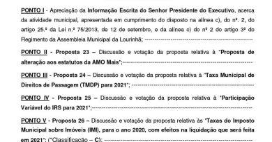 Assembleia Municipal 25 Set. 2020