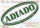 ADIADA 7ª EDIÇÃO DO FESTIVAL DA ABÓBORA