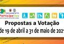 Fase de Votação das Propostas 2019-20(21)